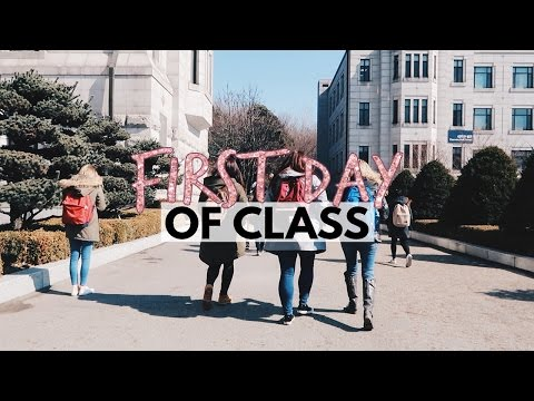 First Day Of Classes At YONSEI UNIVERSITY   Vlog 53