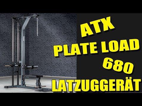 ATX LATZUGGERÄT PLATE LOAD 680 für 399 Euro [Vorstellung   dertestmichel]