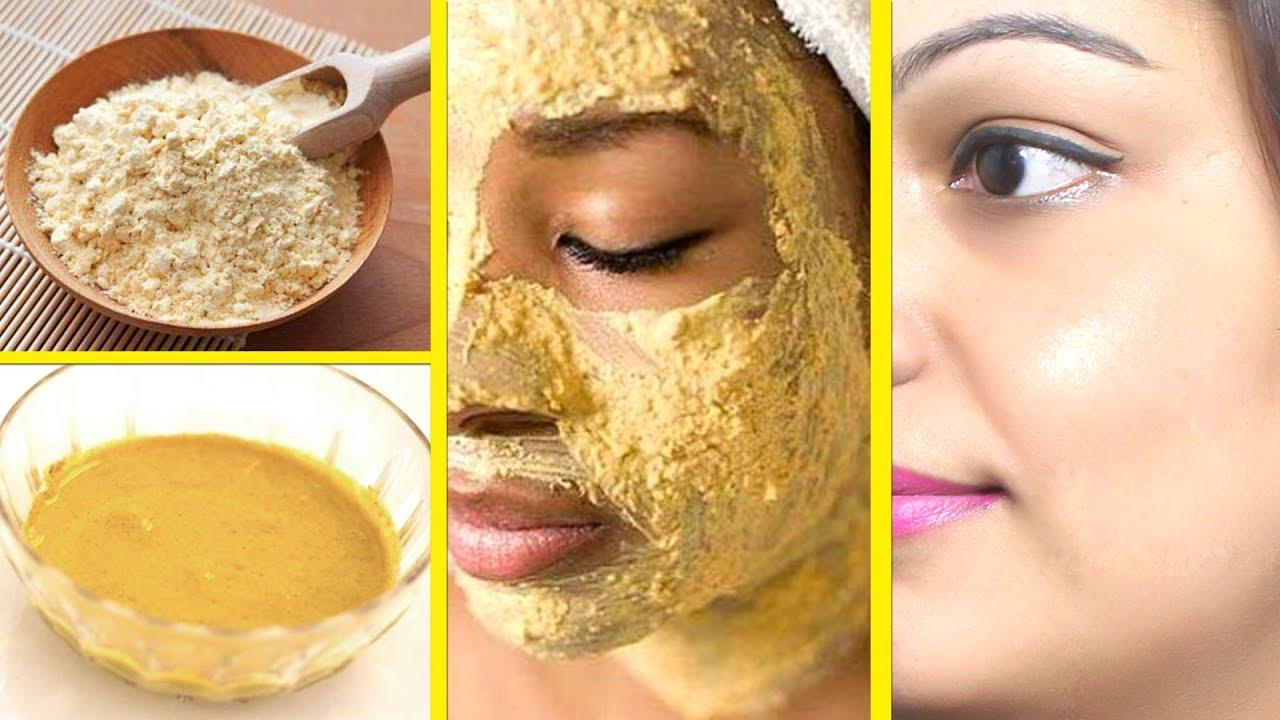 बेसन के 9 ब्यूटी टिप्स  9 Beauty Tips of Gram Flour/ How to Use Besan for  Skin