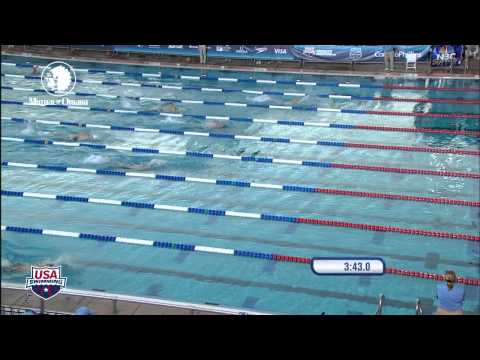 Men's 4X200m Freestyle Relay Heat 4   2011 ConocoPhillips National Championships