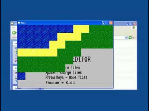 Tile Level Editor - C++/SDL