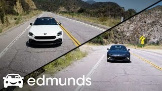 2017 Mazda MX-5 Miata RF vs. 2018 Fiat 124 Spider Abarth Comparison Review | Edmunds