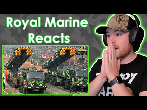 Royal Marine Reacts To Indian Military Power ⚔️ The HIGHEST BATTLEFIELD controller