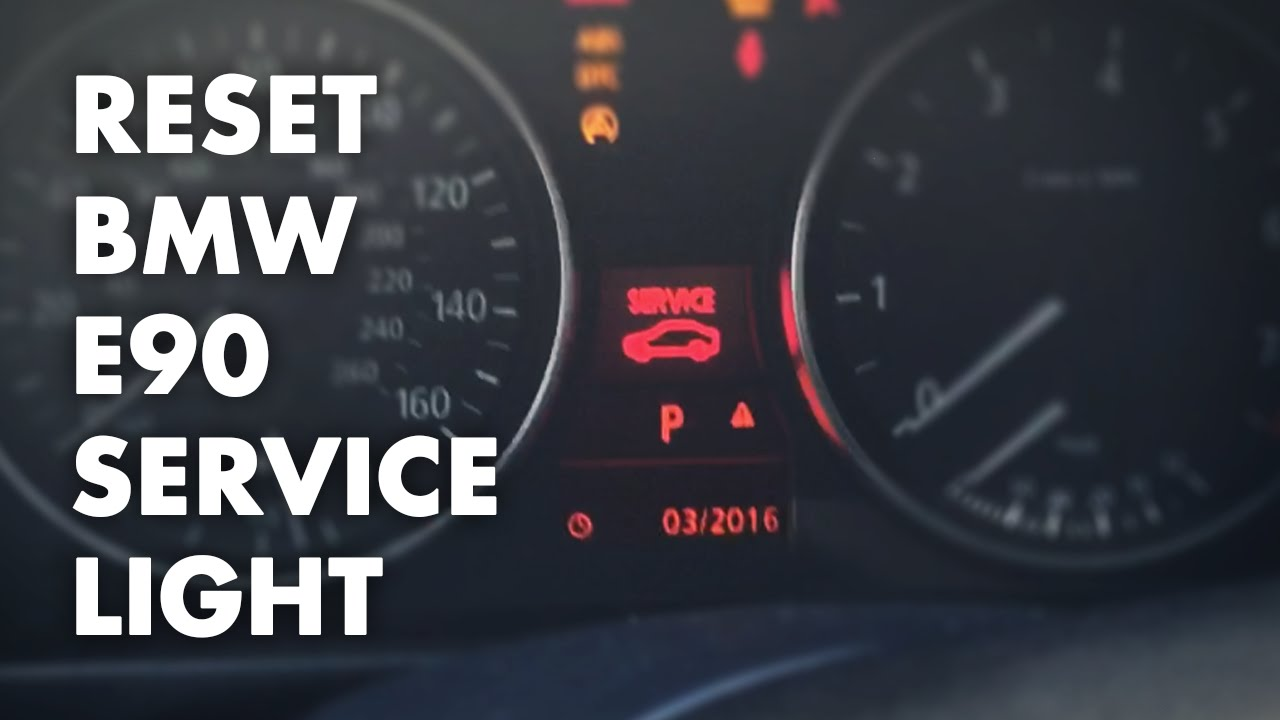 How to reset BMW E90E92 Service Light  Oil Brake Fluid Etc