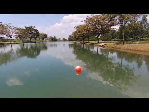 Thai Wake Park in Bangkok | Parrot Bebop 2 Power [RAW footage]