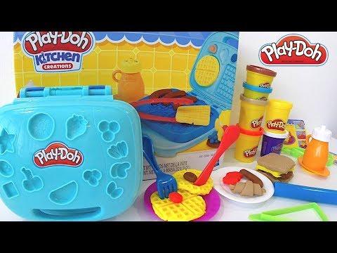 3a3fa5b313 Play-Doh Conjunto Café da Manha - Kitchen Creations Massinhas de Brincar