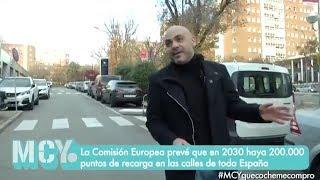 Automóvil eléctrico: Entrevista en mi cámara y yo (TELEMADRID) - JF Calero