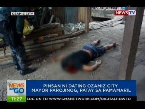 Pinsan ni dating Ozamiz City Mayor Parojinog, patay sa pamamaril