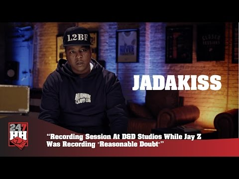 Jadakiss - Session At D&D While Jay Z Was Recording Reasonable Doubt (247HH Exclusive)