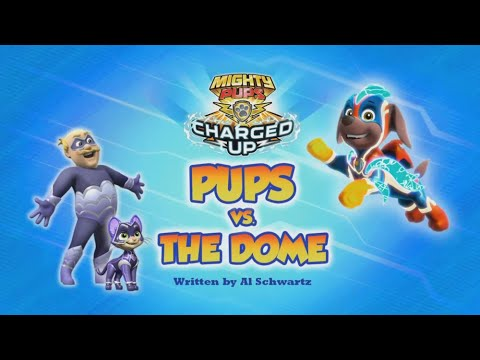 Видео: Mighty Pups,Charged Up: Pups vs the Dome