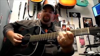 Traveling Riverside Blues Led Zeppelin Open G guitar lesson