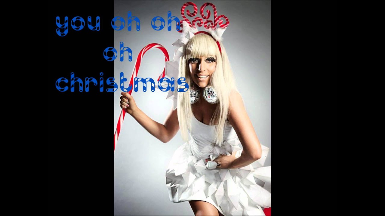 Lady GaGa Christmas Tree (Feat.Space Cowboy)Lyrics HD