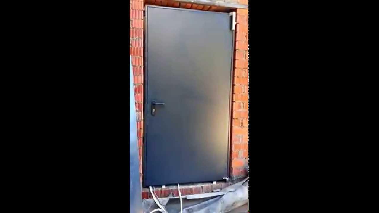 Доводчик для металлических дверей своими руками 178