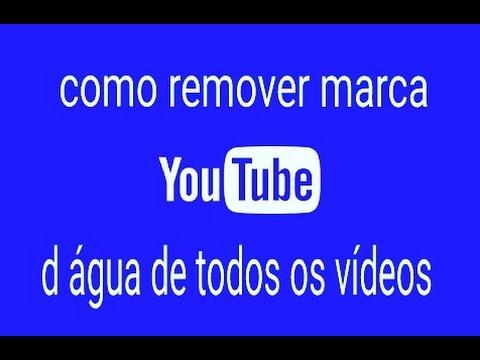 bed3400168bfc Como tirar marca d água de qualquer vídeo - YouTube