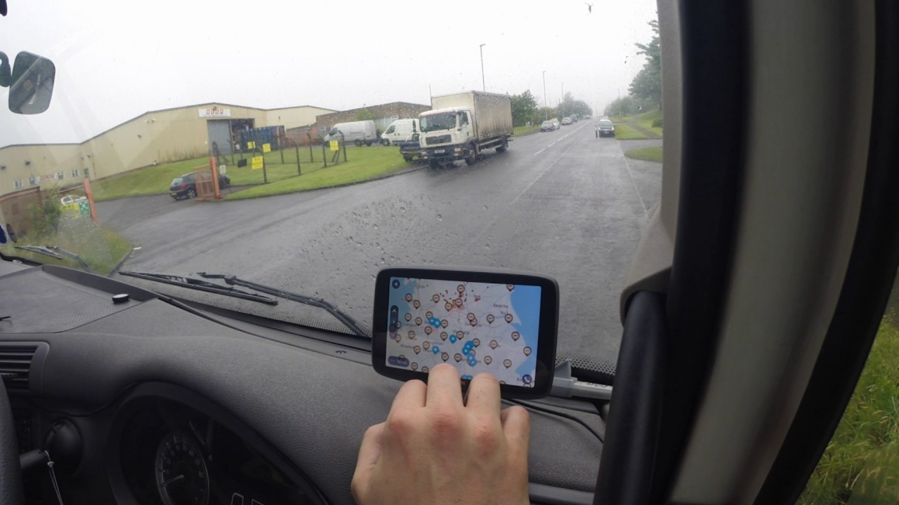 Trucker Jay in the UK: TomTom Professional 6200 review