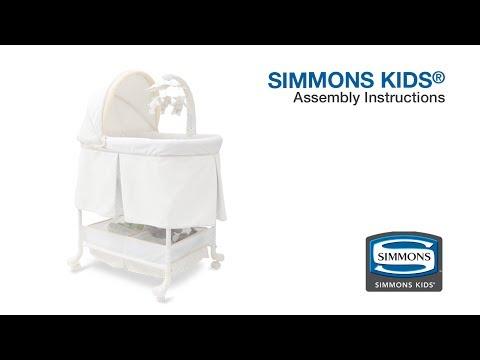 Simmons Beautyrest® Gliding Bassinet Assembly Video