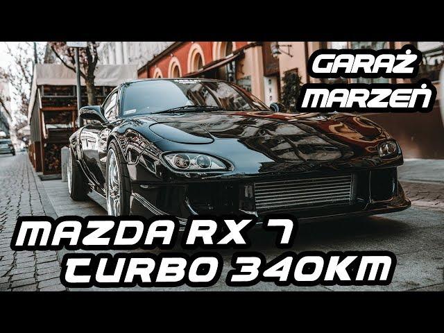 Mazda RX-7 Efini  Widebody Turbo 340KM | Garaż Marzeń