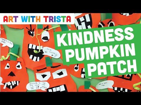 Art With Trista - Kindergarten Kindness Pumpkin Patch