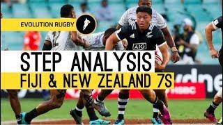 Evo Rugby Evade & Xcel Step Analysis - 7s Evasion - Fiji & New Zealand