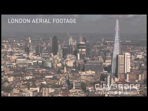 ‪London Aerial Footage - The Shard, London, UK (HD)‬
