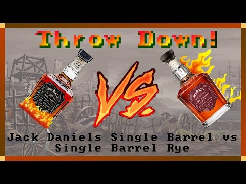 Throwdown! #3 - Jack Daniel's Single Barrel vs Single Barrel Rye