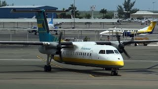 Bahamasair | Boarding and Gate Departure | Dash 8-300 | C6-BFG