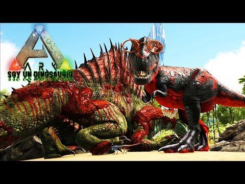 SOY UN TIRANOSAURIO REX Y VOY A SER EL DINOSAURIO REY DE LA ISLA!! NUEVA SERIE Soy Un Dinosaurio Ark