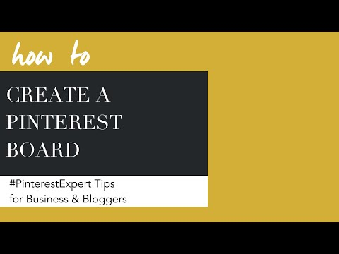 How To Create And Delete A PInterest Board
