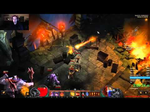 Diablo 3 Reaper of Souls All Acts Any% Level 1 Speed Run - 3:28:15.32 - World Record