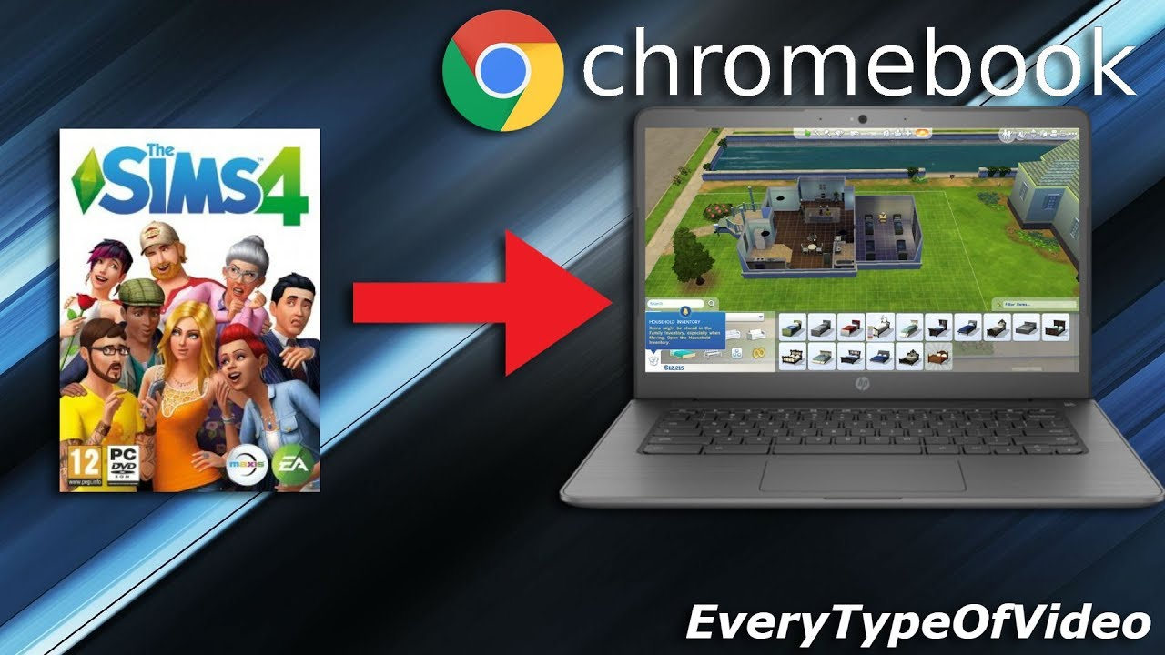 How To Get Sims 4 On Chromebook For Free 100 Working