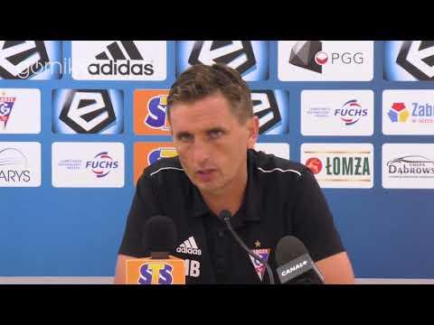 Górnik Zabrze 1-3 Jagiellonia Białystok. Konferencja prasowa: Marcin Brosz (23.09.2018)