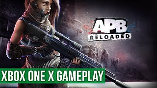 APB Reloaded - Open World FREE Roam Xbox One Gameplay