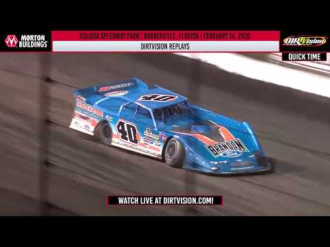DIRTVISION REPLAYS | Volusia Speedway Park February 14th, 2020