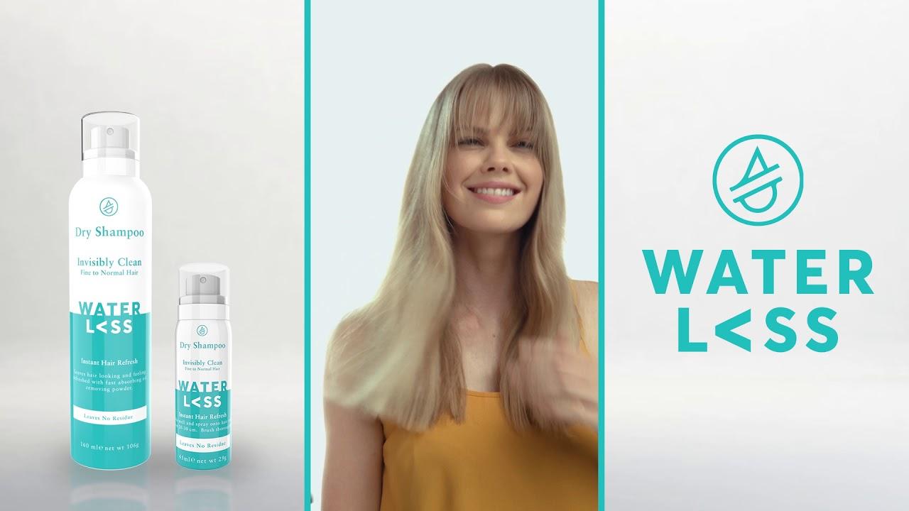 Waterless Shampoo How To Dry Shampoo Your Hair Youtube