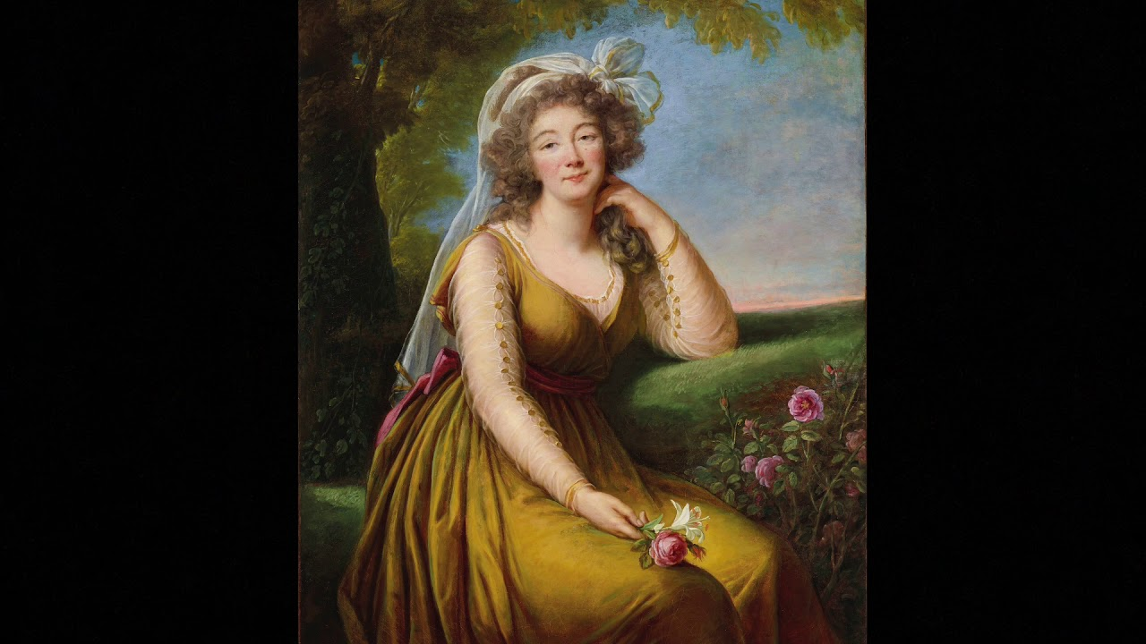 Découverte d'une oeuvre d'Elisabeth Vigée Le Brun tout en relaxation