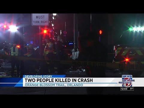2 Die In Orange Blossom Trail Crash
