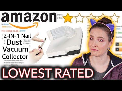 I Tried the Worst Rated Amazon Nail Products - Видео онлайн