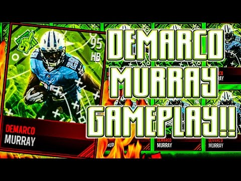 MADDEN MOBILE DEMARCO MURRAY 95 GAMEPLAY! TAKING THE ANKLES!!!! MADDEN MOBILE