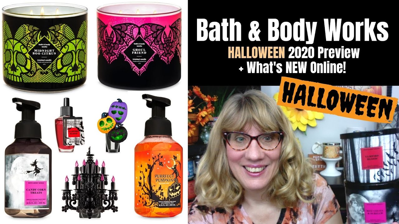 Bath And Body Work Halloween 2020 Bath & Body Works HALLOWEEN 2020 Preview + What's NEW Online