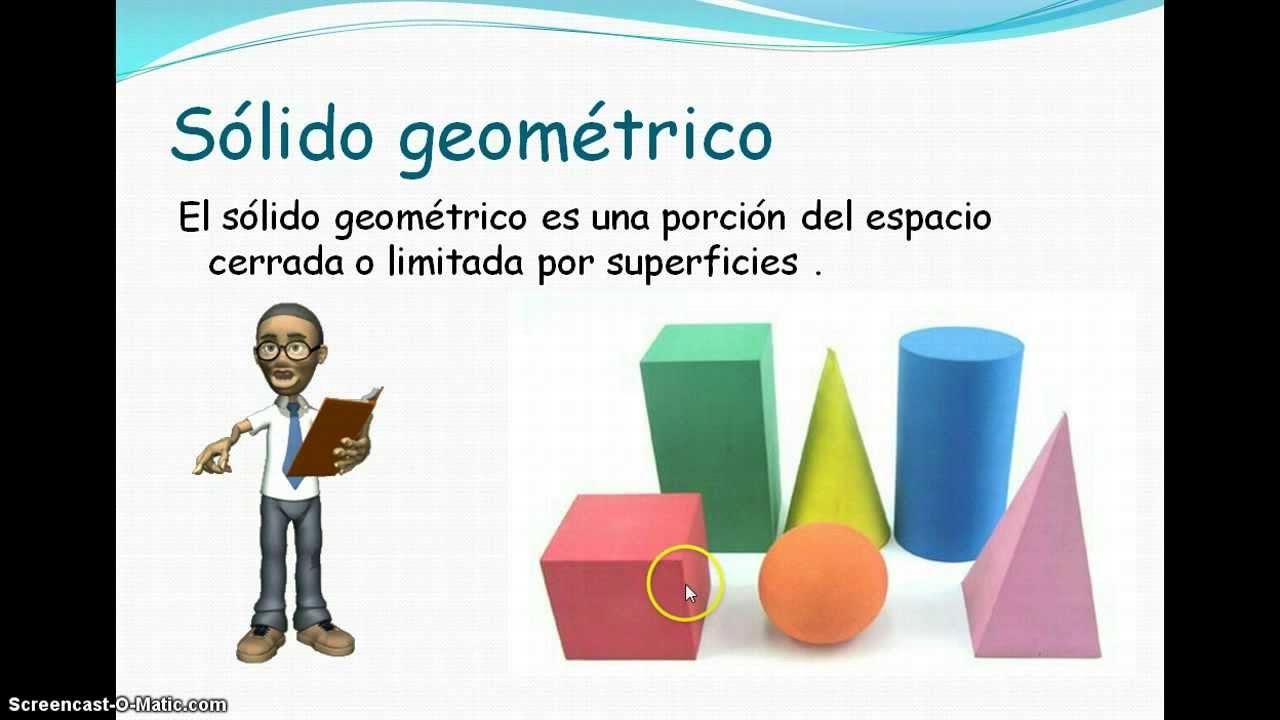 slidos geomtricos  YouTube
