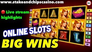 SLOT WINS & BONUSES 🚨 Live stream Highlights !! CASINO GAMES
