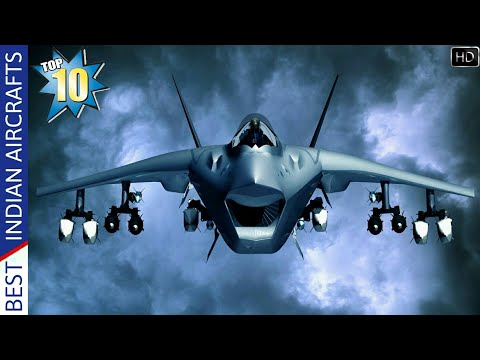 Top 10 Best Indian Fighter Aircrafts - Indian Air Force Deadliest Fighter Jets (Hindi)