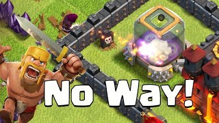 SMARTEST WIZARD EVER!  TH9 Dark Elixir Time   Clash of Clans