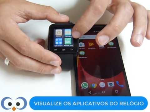 f778531f141 Smartwatch U8 Relógio Inteligente Bluetooth - TUTORIAL - YouTube