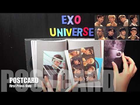 [Unboxing] EXO 2017 Winter Album 'Universe'