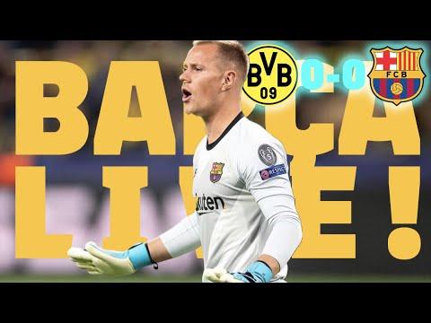 BVB 0-0 Barça | BARÇA LIVE | Warm up & Match Center