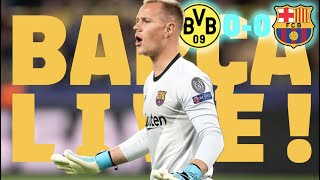 BVB 0-0 Barça | BARÇA LIVE | Warm up & Match Center