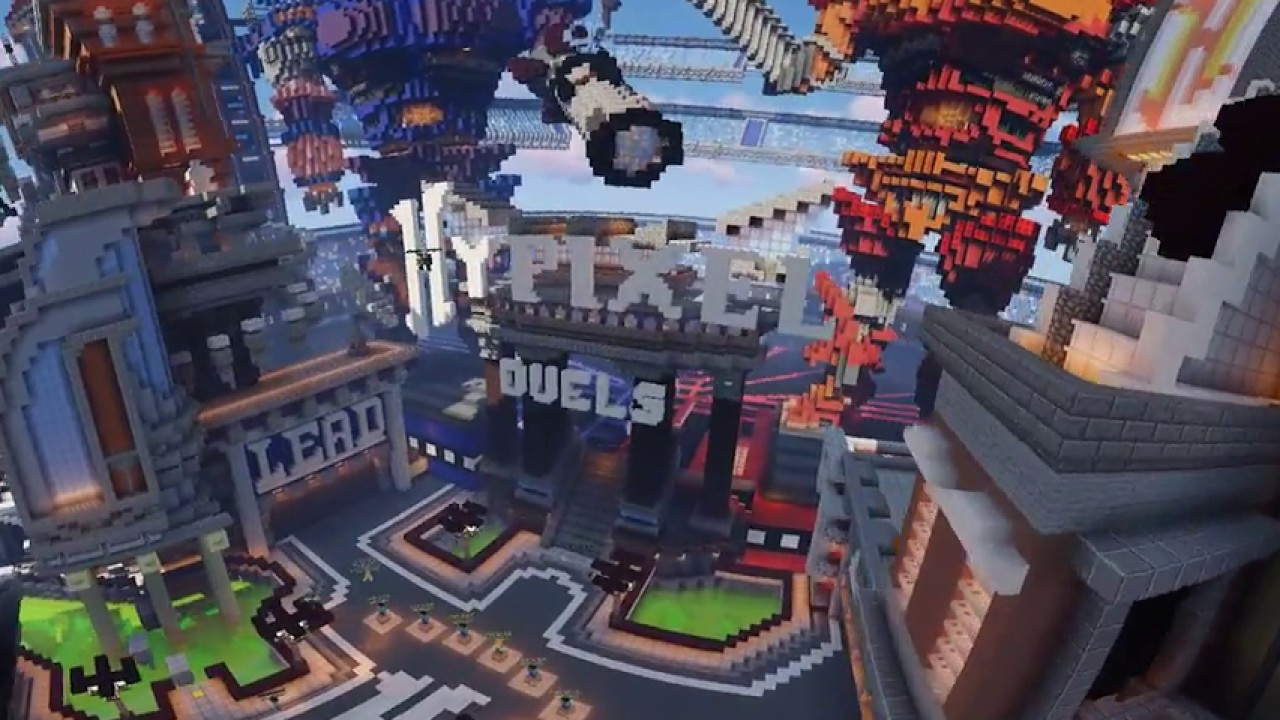 Hypixel – Duels lobby – Cinematic 4k60FPS 360 Video