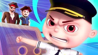 Pirates Of Bermuda Episode | Zool Babies As Naval Commanders | Cartoon Animation For Children