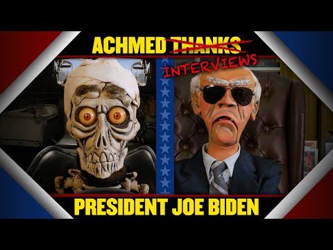 "Achmed thanks… uh… ""interviews"", President Joe Biden | JEFF DUNHAM"